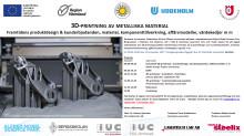3D-printing av metalliska material