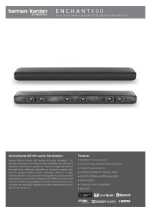 Harman Kardon Enchant 800_Spec sheet