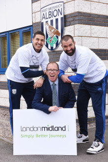 ​London Midland signs with the Albion Foundation