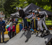 People's Park host Action Sport Extravaganza