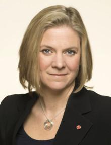 Magdalena Andersson, ekonomisk politisk talesperson för Socialdemokraterna, gästar Life Science/Healthcare dagen 5 mars