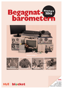 Begagnatbarometern Q3/2013: Svenska folket hamstrar hemelektronik