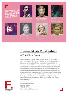 Folkteatern spelåret 2017/2018