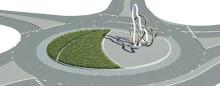 Ehdotustamme Alvar Aalto -kaupungin symboliksi arvostettiin