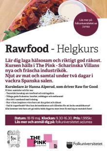 Rawfood Helgkurs 18-19 maj 2019