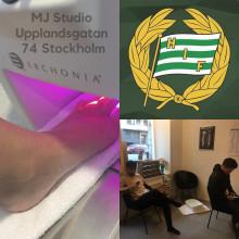 Hammarby är först på bollen...