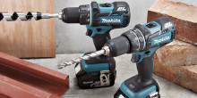 Makita lanserar borrskruvdragare och slagborrmaskin med 4.0Ah batterier