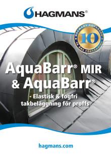 Broschyr 10-års försäkring vid målning med Aquabarr® och Aquabarr® MIR