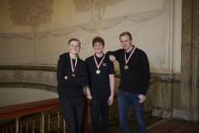 Vinderne af DM i Skills fejret på Københavns Rådhus