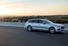 Volvo V90 tar hem förstaplatsen i oktober
