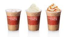 Iskalla nyheter från Max och Seattle's Best Coffee