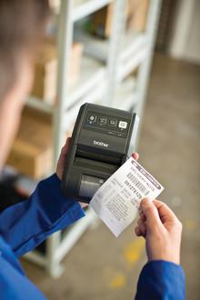 Une performance éprouvée: Brother présente quatre imprimantes de reçus et d'étiquettes innovantes de la nouvelle série mobile RJ-2000