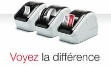 Imprimer des étiquettes en noir et rouge - une première mondiale Brother avec les imprimantes QL-800, QL-810W, QL-820NWB