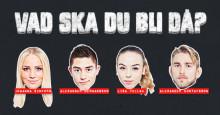 """Alexander """" The Mauler"""" Gustafsson och Lisa Tellbe tipsar om lämplig gymnasieutbildning"""