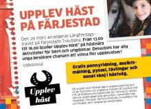 Upplev Häst kommer till Karlstad
