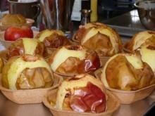 Weihnachtliche Ideen im Füllett: lecker gefüllte Bratäpfel