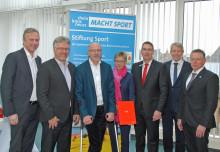 Volker Staufert Stiftung unterstützt Stiftung Sport mit einer Spende für Maßnahmen in 2017