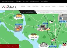 Destination Sigtunas nya webbplats nominerad till pris
