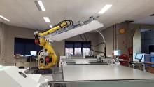 Canon visar en helt robotiserad flatbäddslösning för automatisk utskrift och skärning av stora grafiska produktionsvolymer på FESPA 2018