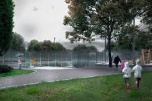 Invigning av skyfallsanpassade parker i Söderkulla