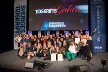 Jurygrupperna till Tidskriftspriset 2017 klara