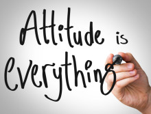 'A Positive Attitude is Your Most Powerful Commodity' States QQ