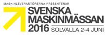 Sveriges nya maskinmässa - av branschen för branschen