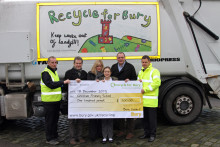 Young artists do their bit for recycling