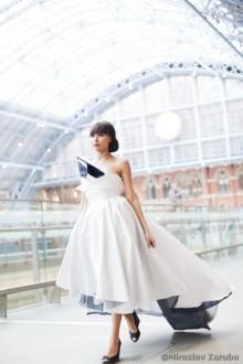 Ekologiska brudklänningar från London