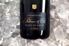 Champagne Palmer Blanc de Noirs - matvänlig och elegant gjord på endast blå druvor