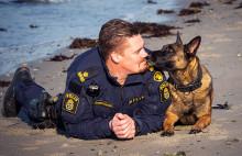 Bella är Årets polishund 2019