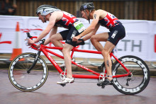 Chris Goodwin wins British Paraduathlon Championships