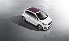 Nya Peugeot 108 – Superkompakt stadsbil med djärv personlighet