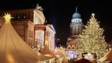 Koe Euroopan joulutorien sadunomainen tunnelma