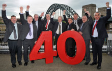 Employees honoured for 2,390 years on the buses