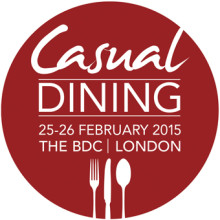 Sold out Casual Dining show confirms full exhibitor line-up for 2015