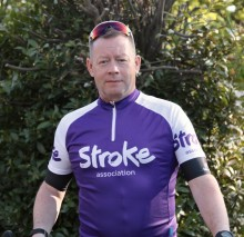 ​Stroke survivor takes on 100 mile cycle for the Stroke Association