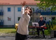 Dansföreställning gjordes om för ny publik i Lindesberg