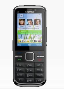 Nu finns prisvärda Nokia C5-5MP hos 3