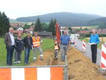 Presseinformation: Umbau- und Verstärkungsmaßnahmen im Netz - Bayernwerk verbessert Versorgungssicherheit im Raum Traitsching