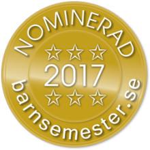 Nominerade till Stora Barnsemesterpriset 2017