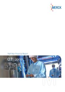 Halvårsrapport Merck 2009