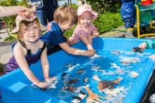 Gamla leksaker ger plats åt nya -  projekt giftfri förskola fortsätter i Ale