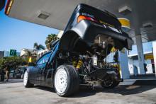 Ken Block bemutatta legújabb szerzeményét: egy 1986-os Ford RS200 versenygépet