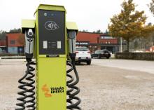 Tranås Energi satsar på laddstolpar i Ydre