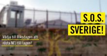 S.O.S. Sverige - rösta nej till tillfälliga lagen!