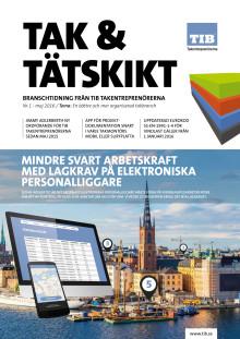 Tak & Tätskikt Nr1 2016