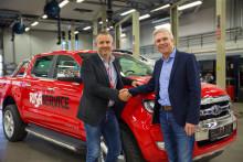 Ford-fan: Bjørn har kjøpt 640 biler de siste 10 årene