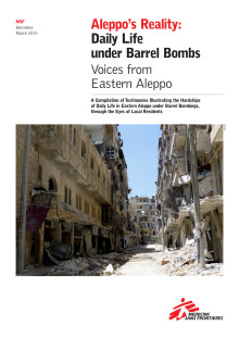 Aleppo´s Reality: Daily Life under Barrel Bombs