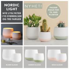 Nordic Light i lyse, vårlige farger fra Porsgrunds Porselænsfabrik